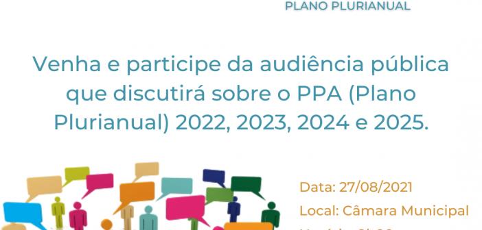 Participe da Elaboração do PPA!